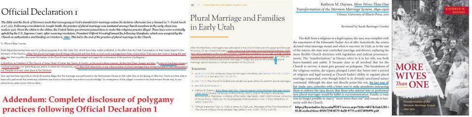 polygamy 1.1